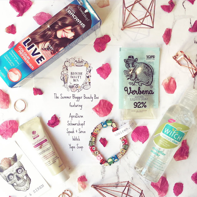 Lovelaughslipstick Blog Summer Blogger Beauty Box Review