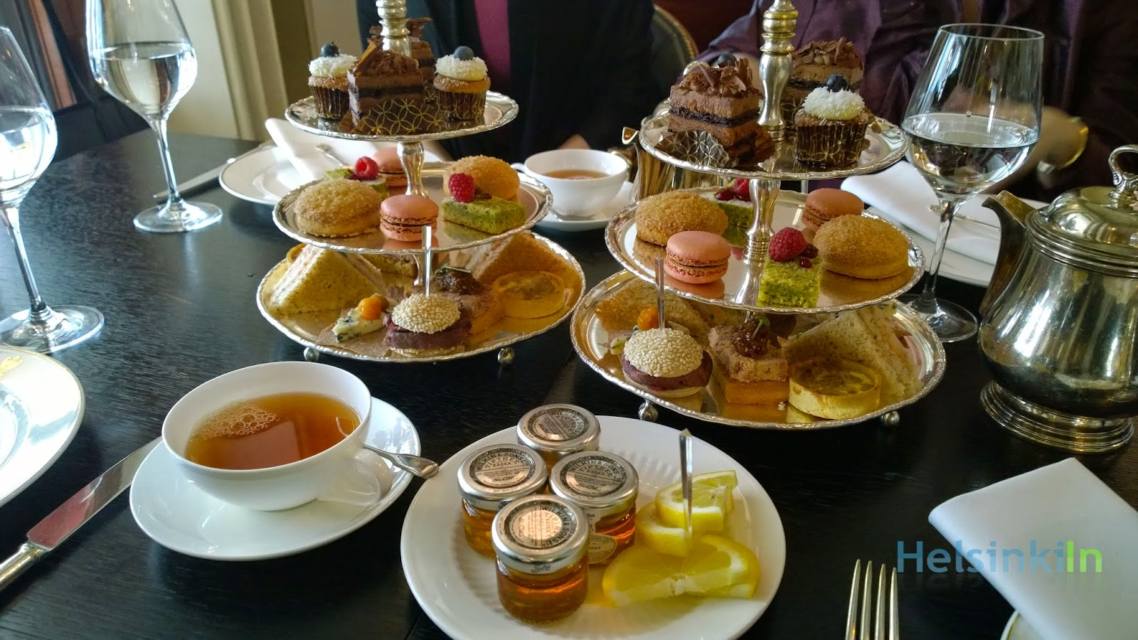 Afternoon Tea at Brasserie Kämp