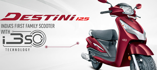 New Hero Destini 125 India's first family scooter