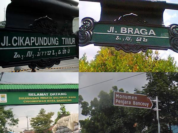 Arti nama-nama tempat dan jalan di Bandung