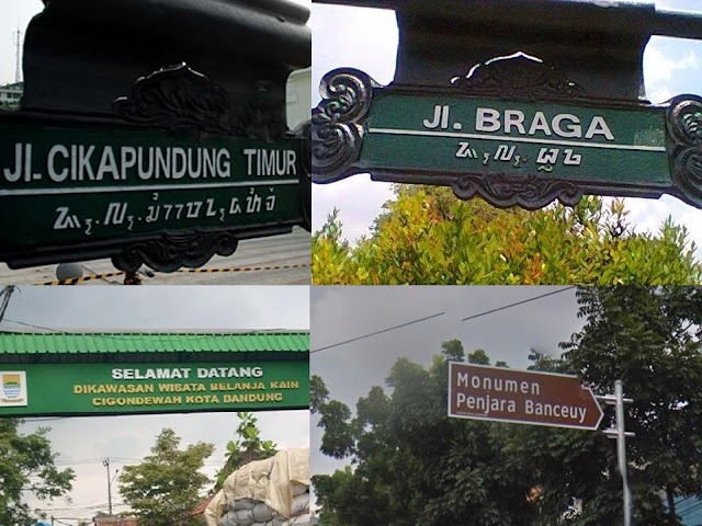 Mengenal Kosakata Bahasa Sunda dari Nama-Nama Tempat di Bandung