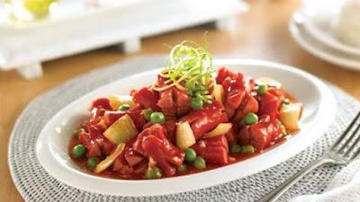Resep Masakan Mudah dan Enak Sosis Gorang Asam Manis