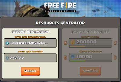 Ofire.icu Generator diamond dan Coin Free fire terbaru