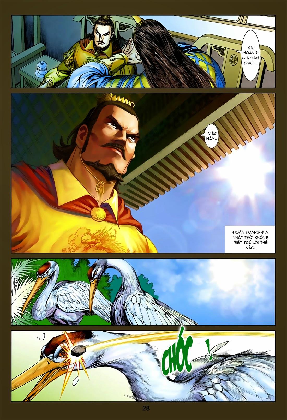 Anh Hùng Xạ Điêu anh hùng xạ đêu chap 75: hoàng thành cựu sự trang 28