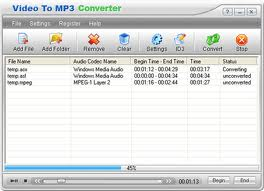 MP3 Video TO MP3 Converter