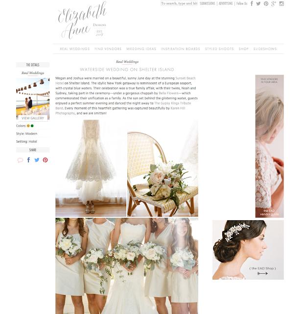Featured Wedding, Elizabeth Ann Designs, Shelter Island Wedding