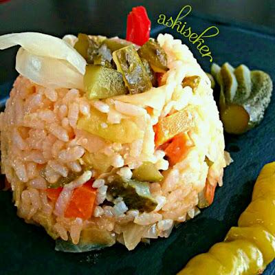 TURŞULU PİLAV TARİFİ nasıl yapılır kolay nefis videolu yemek tarifleri rice recipe