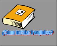Instalar freeglobes en español