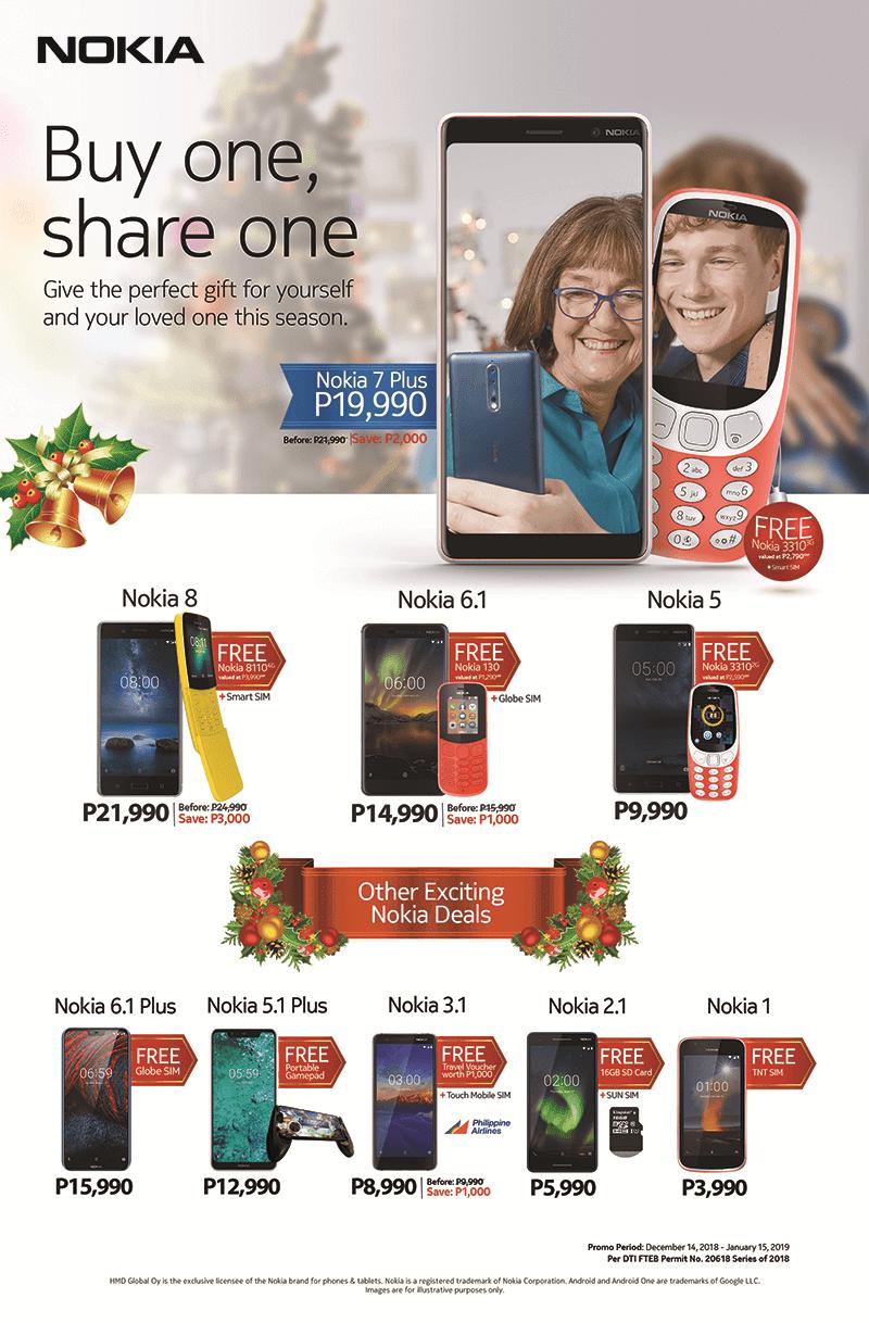 HMD Global is offering great Nokia Christmas bundles