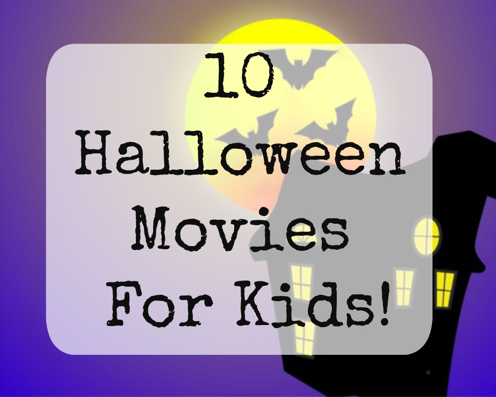 10 Halloween Movies Suitable For Kids - Whimsical Mumblings