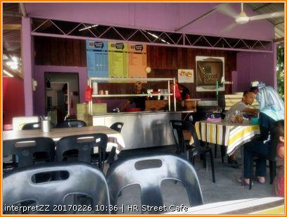 HR Street Cafe di Salak Tinggi di Sepang di Malaysia
