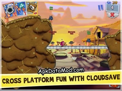 Worms 3 Apk cloudsave