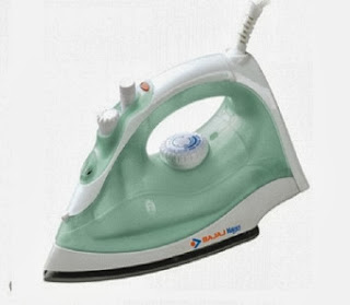 Limited Period Offer: Bajaj MX7 1200W Steam Iron (White) worth Rs.1249 for Rs.729 Only