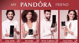 Cadastrar Promoção Pandora Joias My Pandora Friends