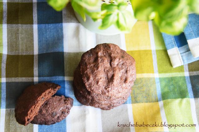 Ciastka obłędnie czekoladowe, bezglutenowe