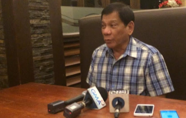 Duterte: There will be a purging, without declaring Martial Law I will cleanse this government