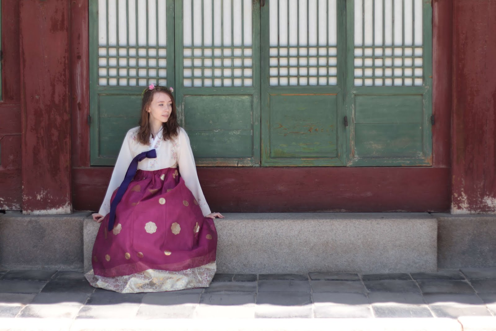 gyeongbokgung palace hanbok uk fashion blogger