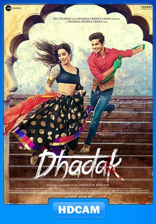 Dhadak 2018 Hindi PreDVDRip x264 Poster