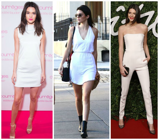 Mais looks total white da modelo!