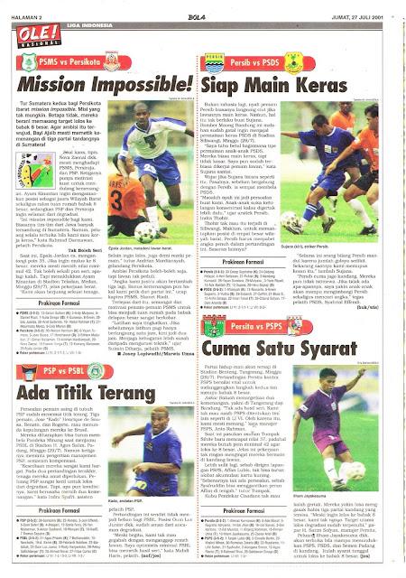 LIGA INDONESIA PSMS VS PERSIKOTA MISSON IMPOSSIBLE