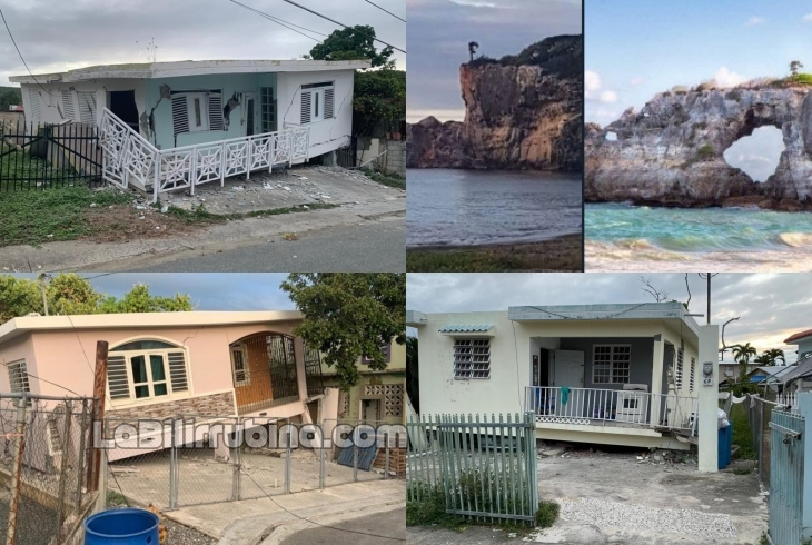 Fuerte temblor estremece a Puerto Rico