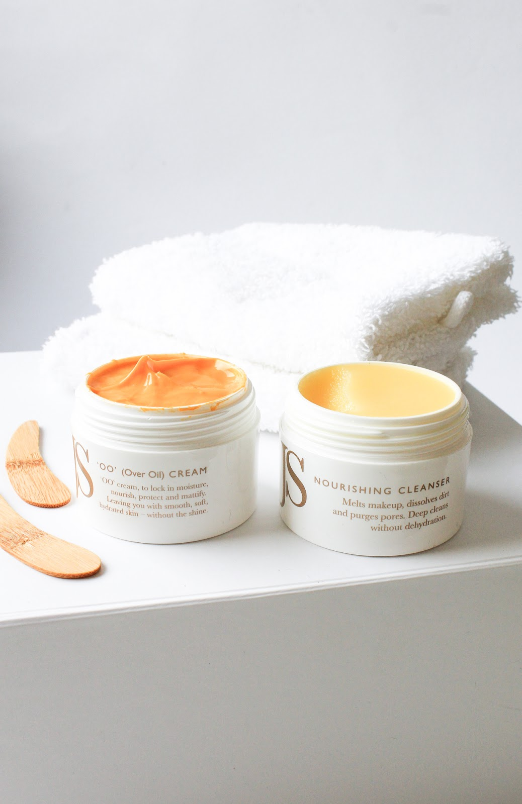 January Beauty Discovery by Beauty Heroes Jane Scrivner Nourishing Cleanser, OO Cream
