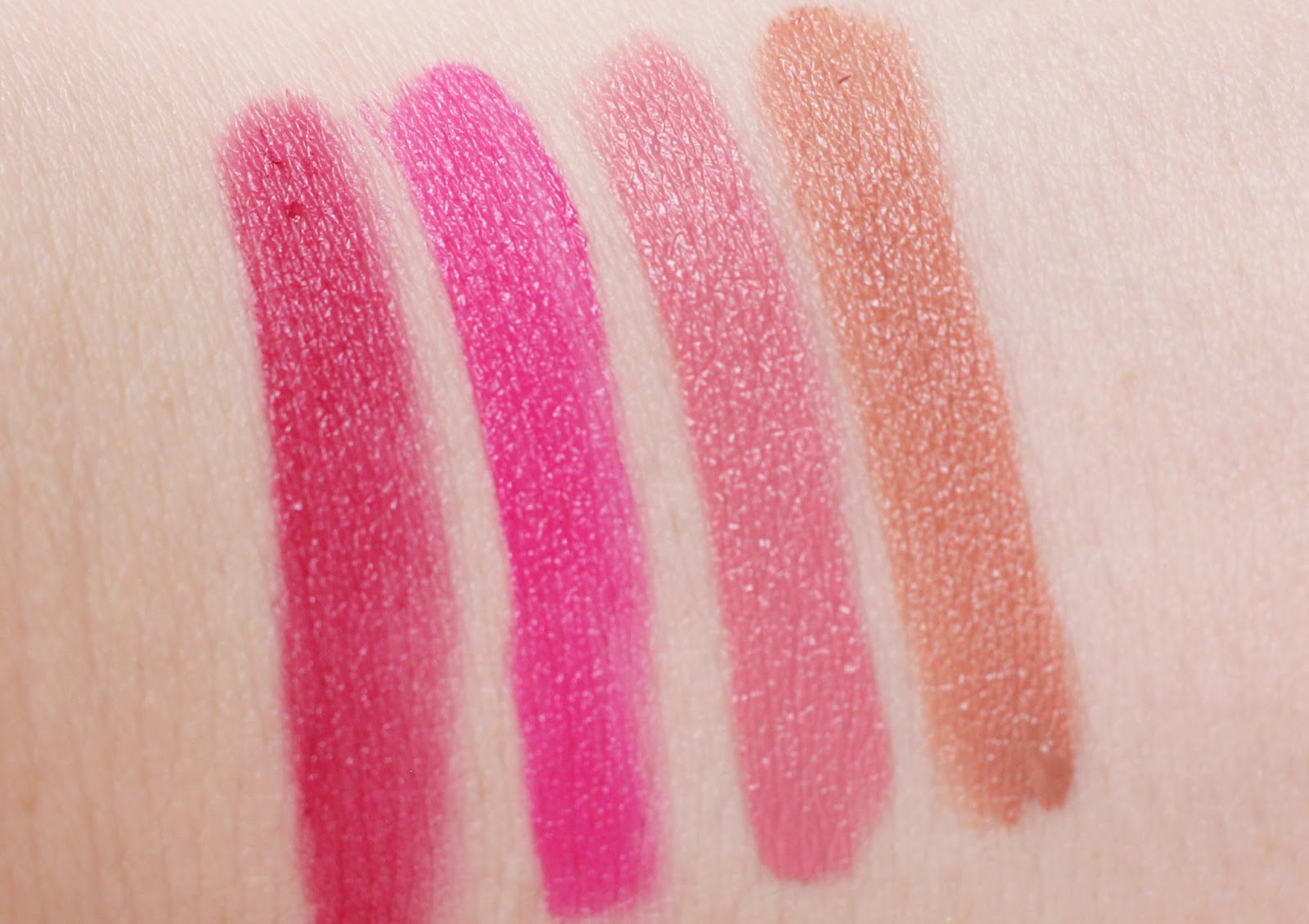 Too Faced Melted Kisses Blog Review Swatches