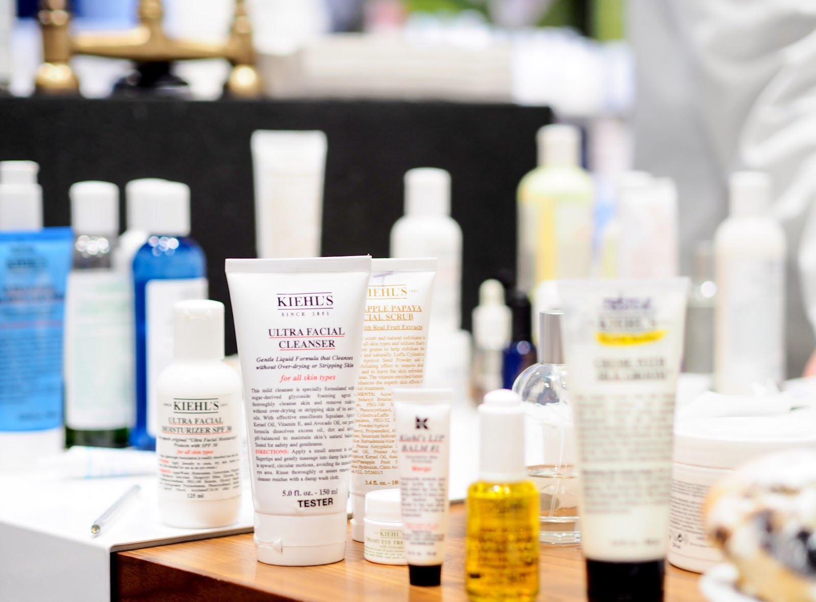 Kiehl's Grand Central Blogger Event