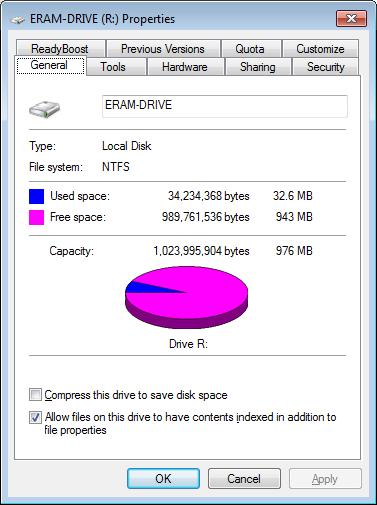 رامات إضافية لتسرع الجهاز وحفظ الملفات ERAM v2.24