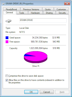Additional RAM to speed up the device and save files ERAM  v2.24
