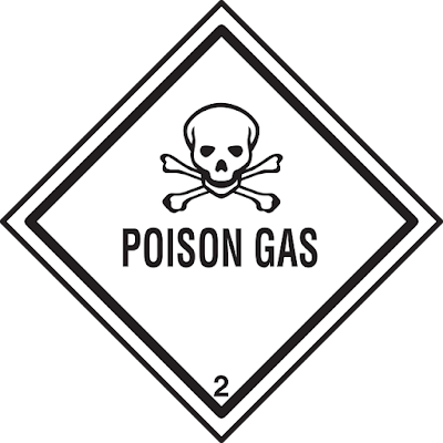 Warning Poison Gas