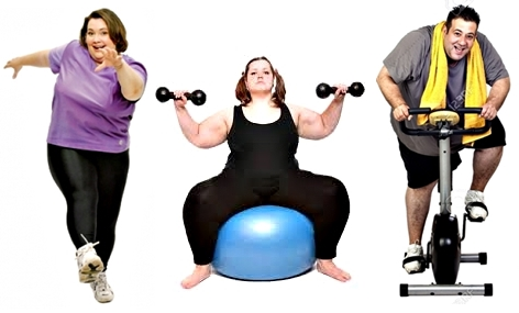 Entrenamiento pesas personas obesidad