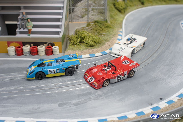 Slotcar Custom AFX Faller AMS TYCO Porsche Ferrari Nürburgring