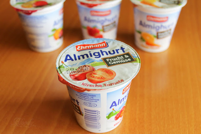 Almighurt Frucht&Gemüse Kirsche Tomate von Ehrmann