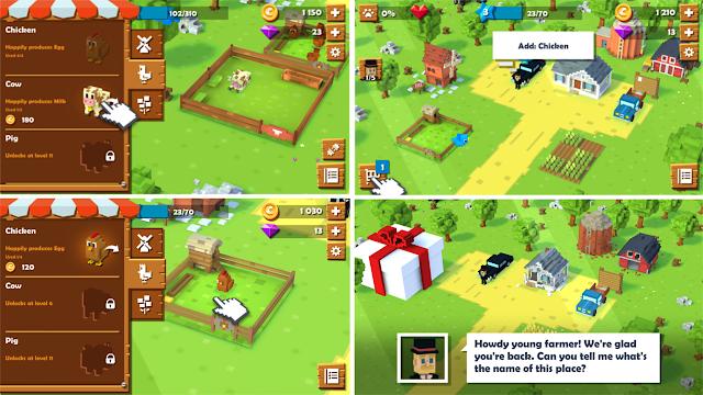 [Total Size] Blocky Farm Game Offline Berkebun Dan Memelihara Hewan Android