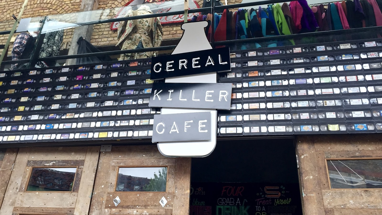 Things To Do In London || Cereal Killer Cafe Camden