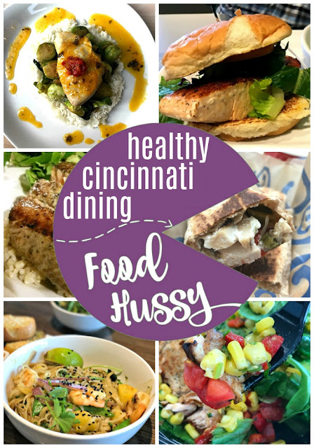 Healthy places to eat out in Cincinnati