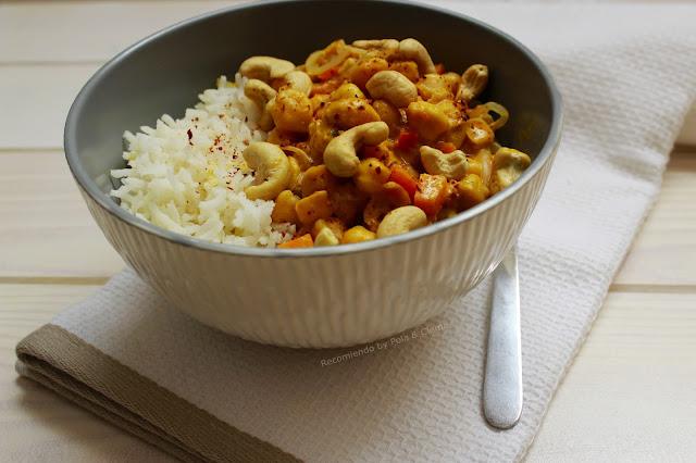 Receta de Garbanzos al Curry.  Los mejores Garbanzos. Receta rápida y llena de sabor