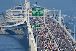 ちばアクアラインマラソン東京湾アクアラインリタイア千人