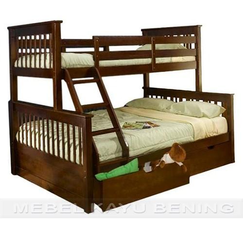 model tempat tidur anak tingkat 1