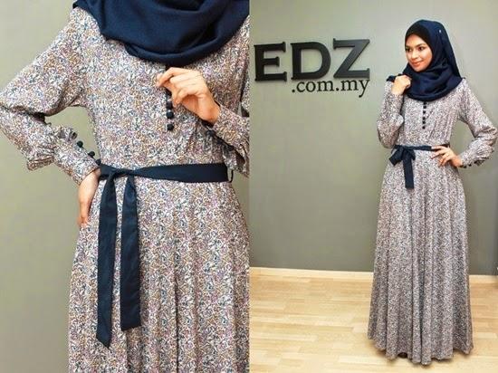 Fl Jubah Dress