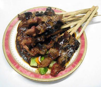 Kuliner Indonesia - Sate Anggrek