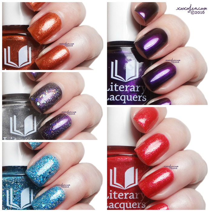 xoxoJen's swatch of Literary Lacquers Nailed Collection
