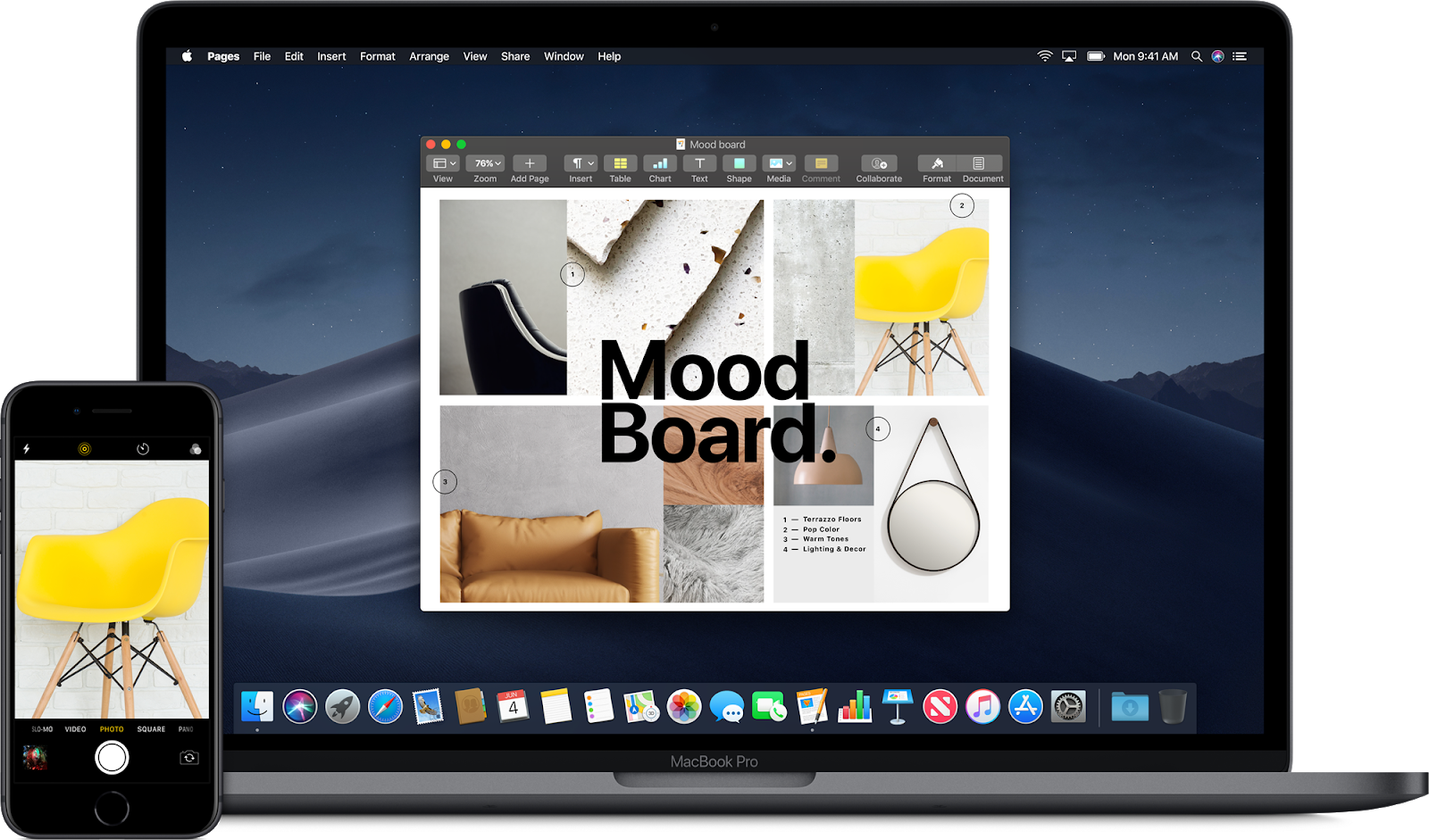 Fitur macOS Mojave