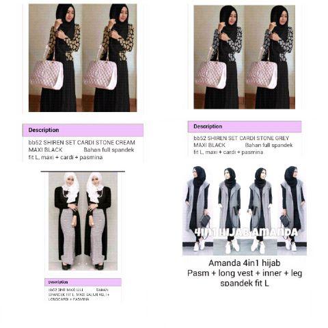 SYAHIRAH ONLINE SHOP Fashion Sedia Baju Terbaru Untuk Ibu dan Remaja Harga mulai 50 ribuan