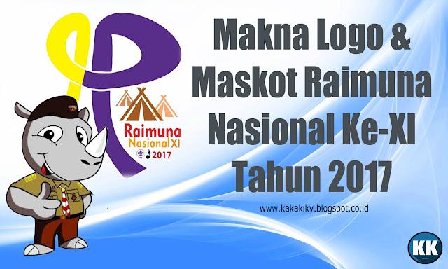 Makna Logo Dan Maskot Raimuna Nasional XI Tahun 2017