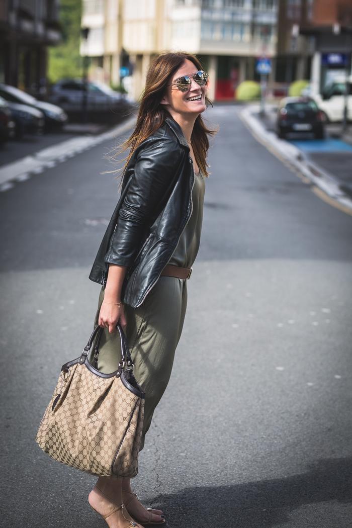 vestido verde , prada , es cuestión de estilo , Personal Shopper , Lucía Díez, Gucci,