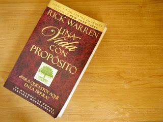 Libro Una Vida con Proposito de Rick Warren