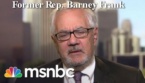 Former Rep. Barney Frank