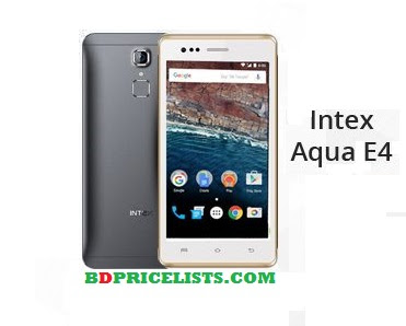 Intex Aqua E4 Mobile Specifications & Price In Bangladesh